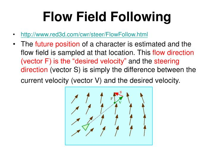 Flow Field Following