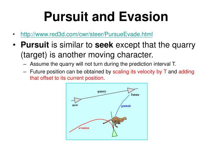 Pursuit and Evasion