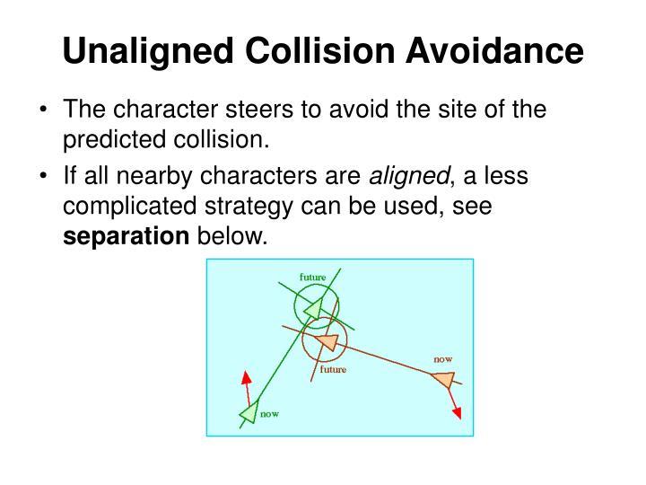Unaligned Collision Avoidance