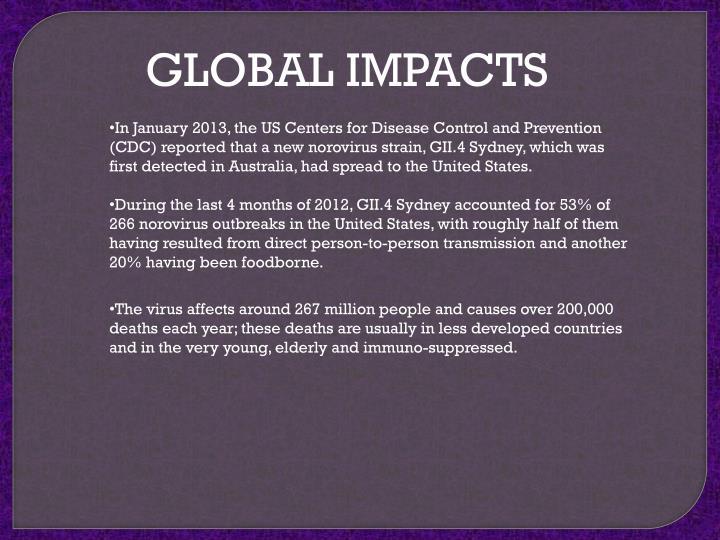 GLOBAL IMPACTS