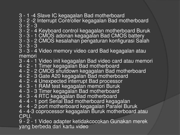 3 - 1 -4 Slave IC