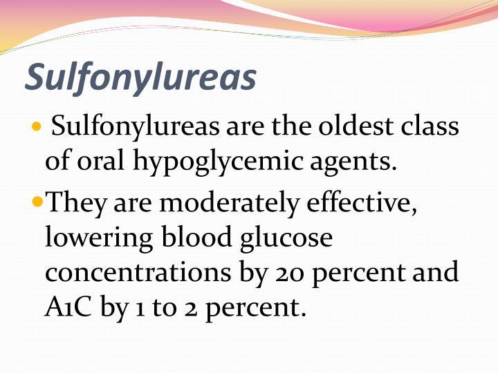 Sulfonylureas