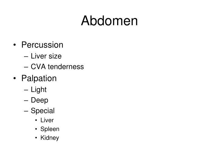 Abdomen