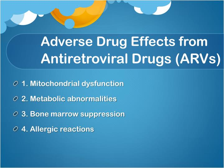 Adverse Drug Effects from