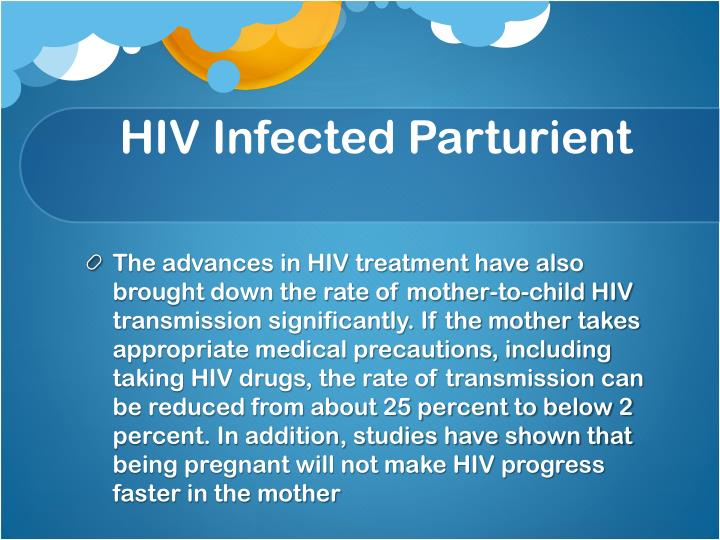 HIV Infected Parturient