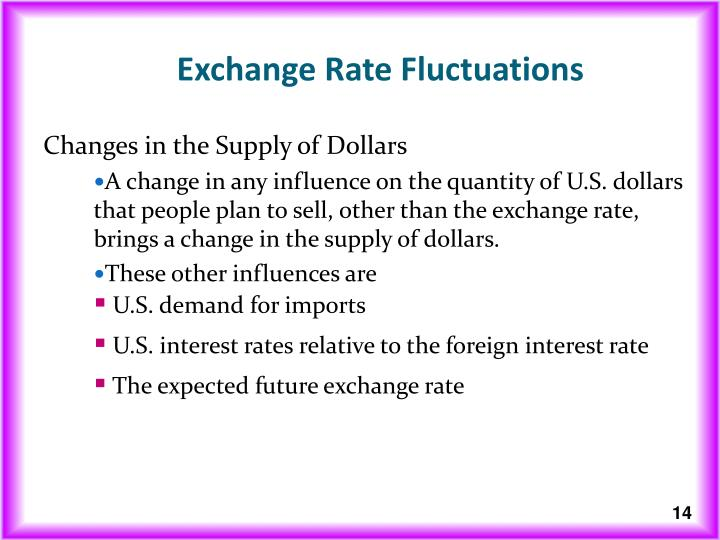 currency fluctuation when us strengthen in 50 factors that affect the value of the us large international demand for us currency bills in the 1990s creating a fluctuation in the dollar's value us.