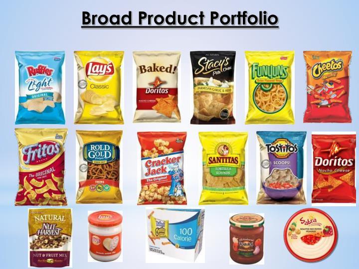 Broad Product Portfolio