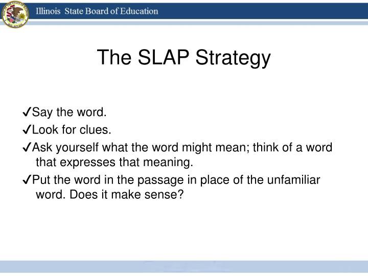 The SLAP Strategy