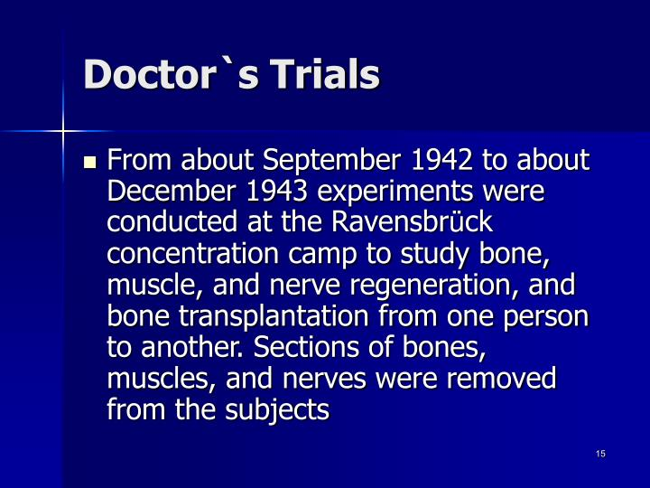 Doctor`s Trials