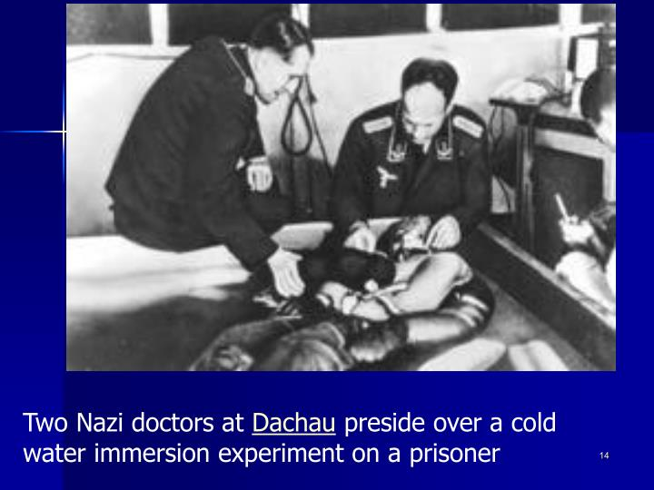 Two Nazi doctors at