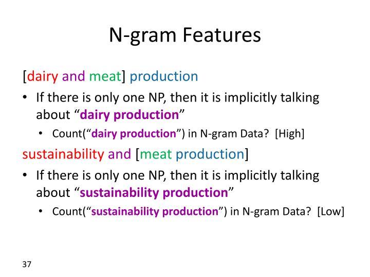 N-gram Features