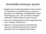 gramati ka anotacija i parseri