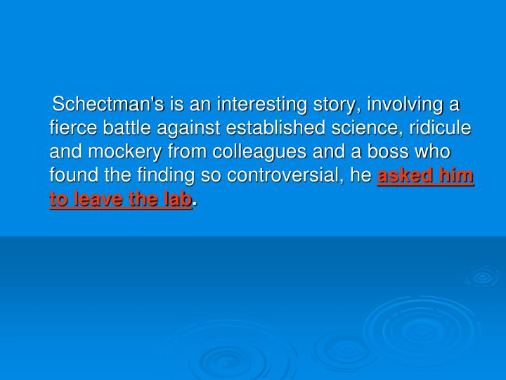 Schectman's