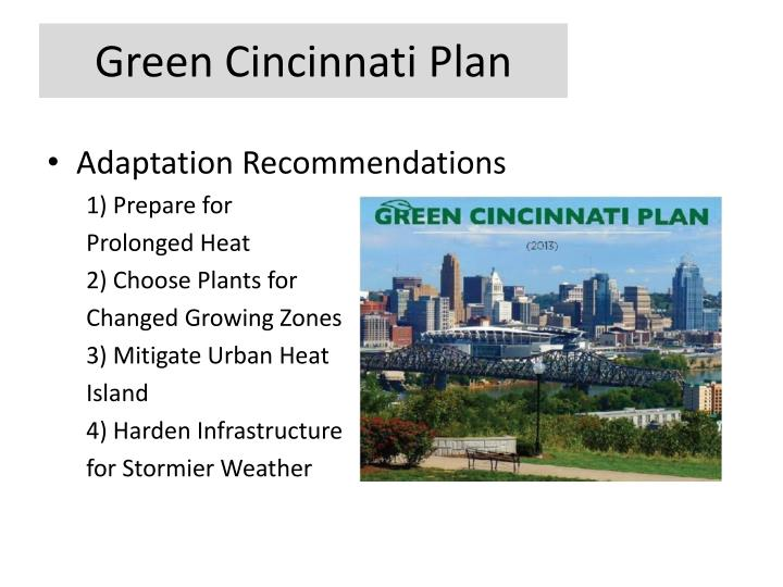 Green Cincinnati Plan