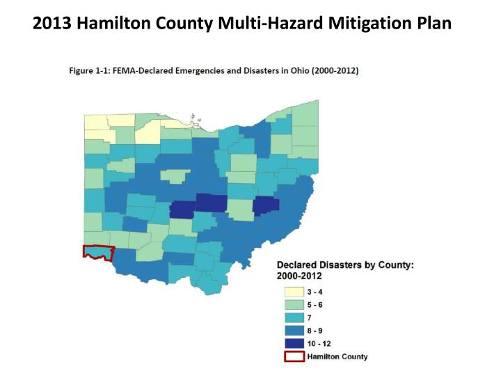 2013 Hamilton County Multi‐Hazard Mitigation Plan