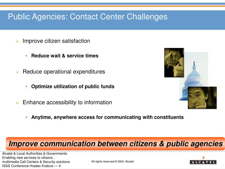 Public Agencies: Contact Center Challenges