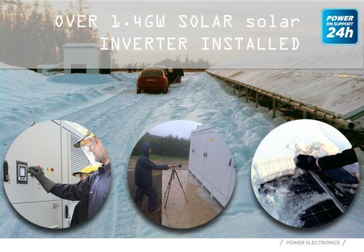 OVER 1.4GW SOLAR