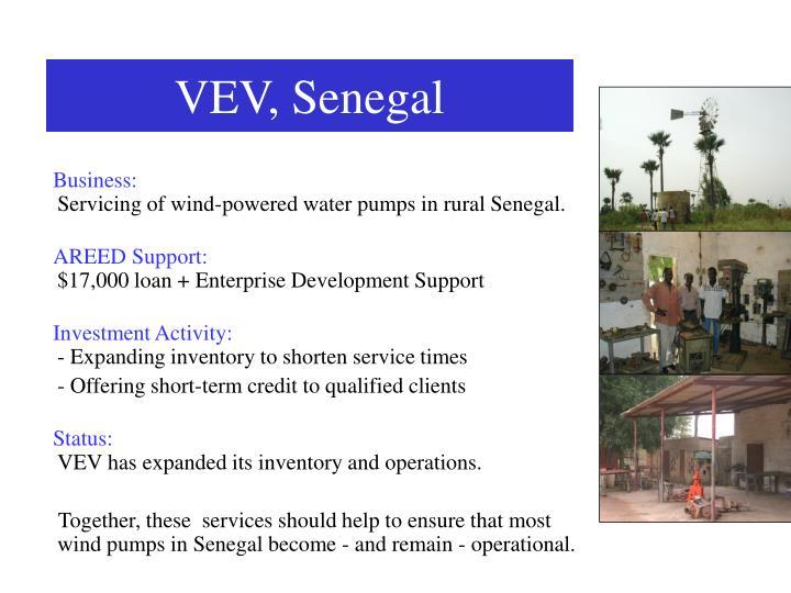 VEV, Senegal