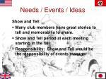 needs events ideas1