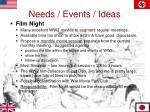 needs events ideas2