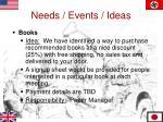 needs events ideas3