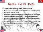 needs events ideas4