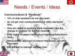 needs events ideas5