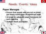 needs events ideas8