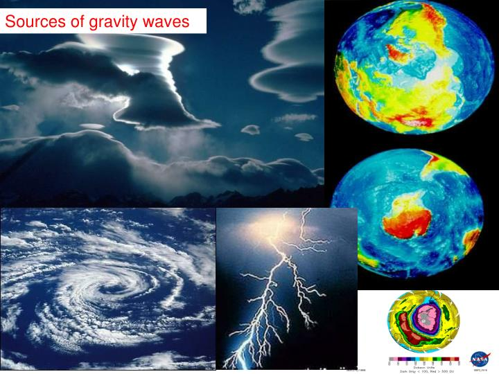 Sources of gravity waves