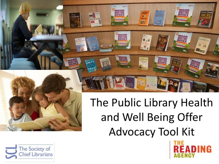 The Public Library Health and Well Being Offer
