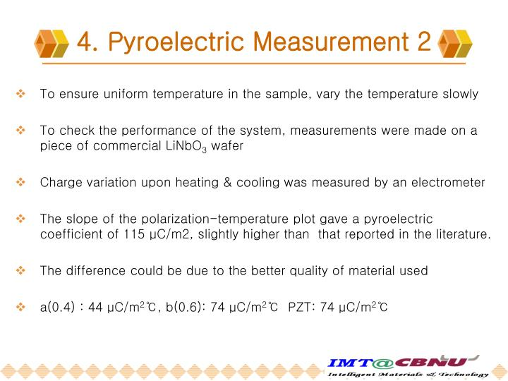 4. Pyroelectric Measurement 2