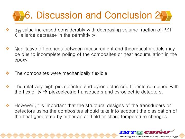 6. Discussion and Conclusion 2