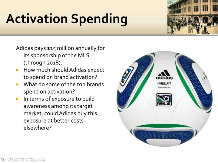 Activation Spending