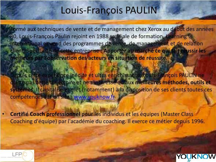 Louis-François PAULIN