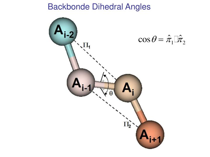 Backbonde Dihedral Angles