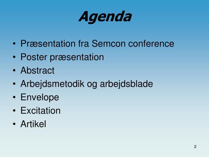 Præsentation fra Semcon conference