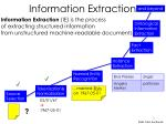 information extraction1
