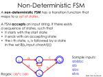 non deterministic fsm