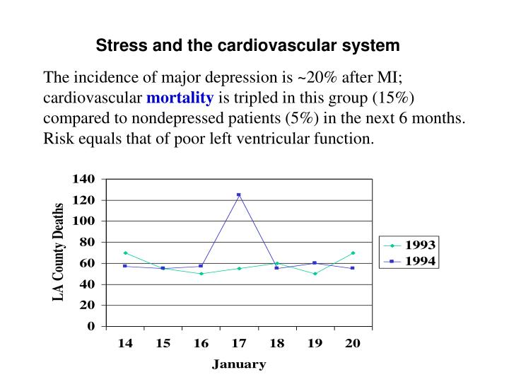Stress and the cardiovascular system