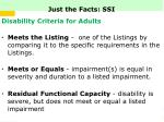 just the facts ssi5