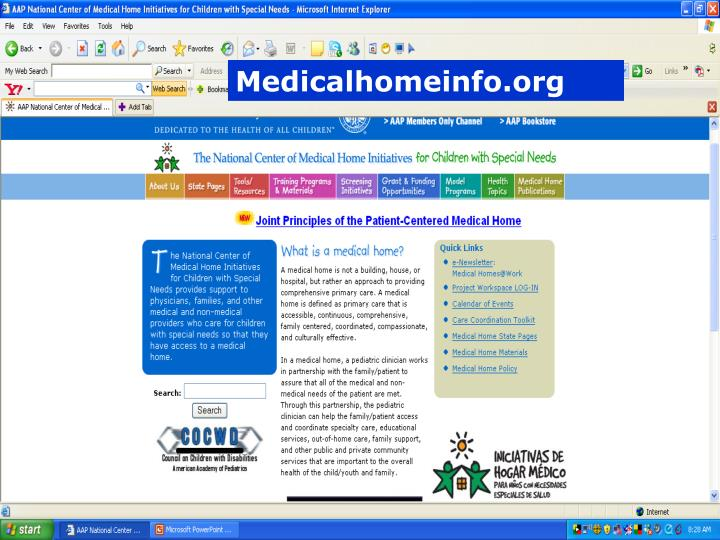 Medicalhomeinfo.org