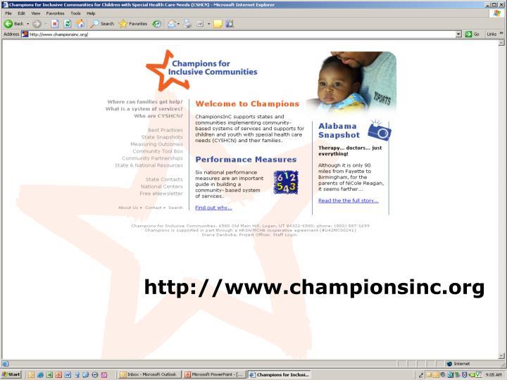 http://www.championsinc.org
