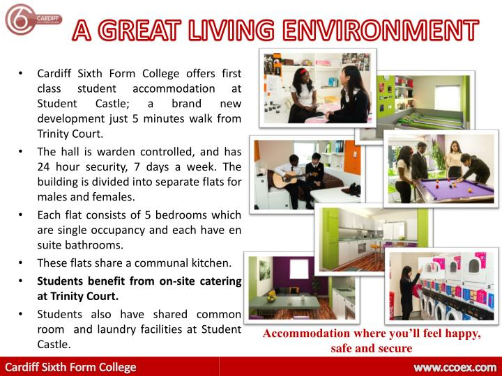 A GREAT LIVING ENVIRONMENT