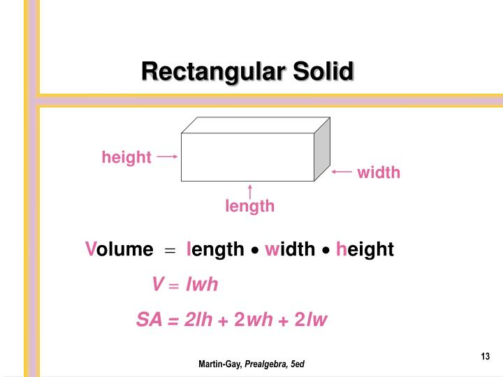 Rectangular Solid