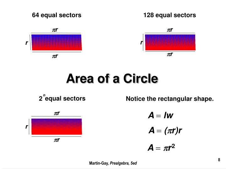 64 equal sectors