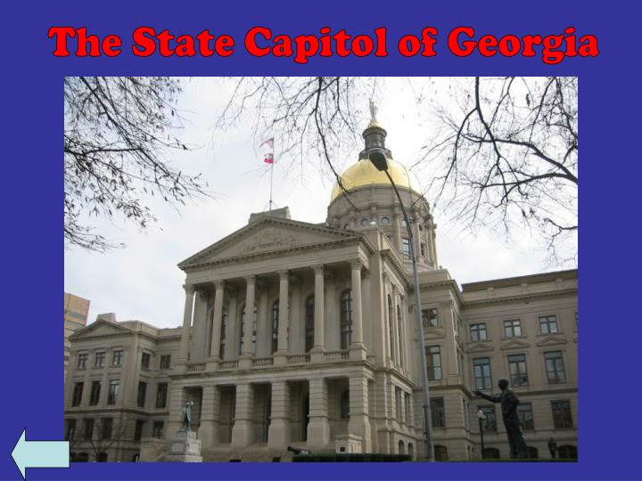 The State Capitol of Georgia