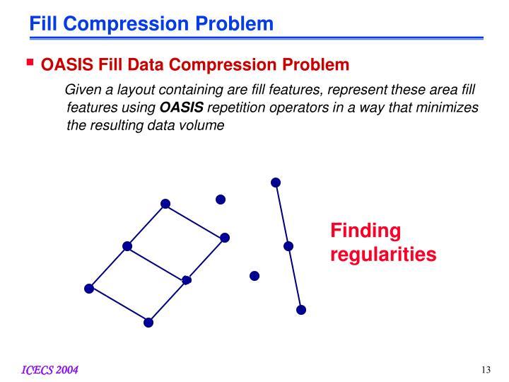 Fill Compression Problem