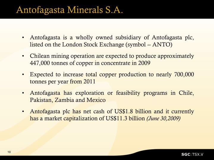 Antofagasta Minerals S.A.