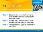 7 2 leadership