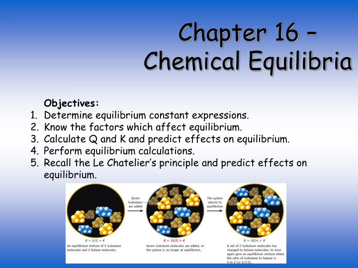 the determination of an equilibrium constant essay